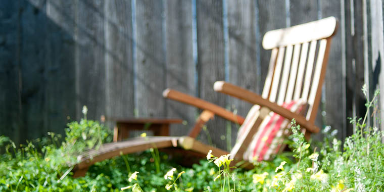My garden chair