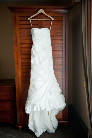 Sendy's White Wedding Dress